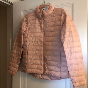 Lightweight packable coat